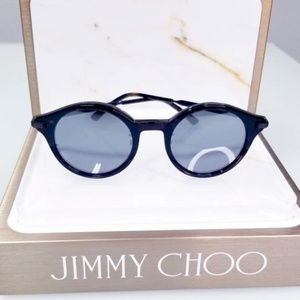 NWT Jimmy Choo Black / Gray Nick Sunglasses